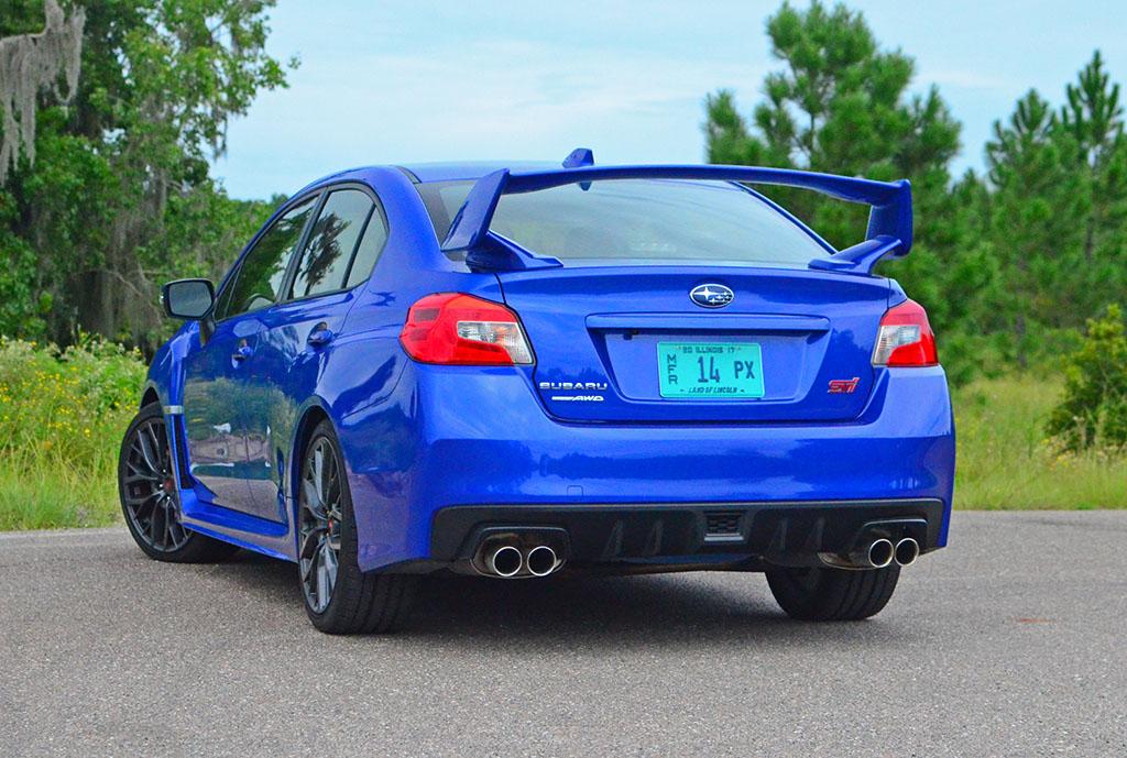 Subaru Sti 2018 >> 2018 Subaru WRX STi Limited Quick Spin Review & Test Drive