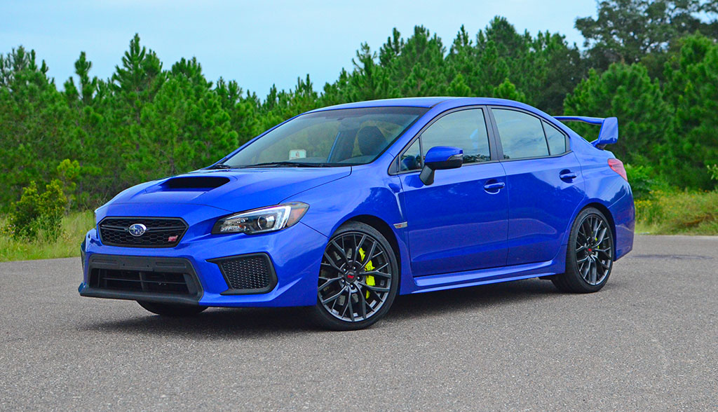 Speed Test >> 2018 Subaru WRX STi Limited Quick Spin Review & Test Drive