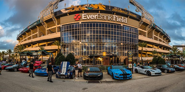 Automotive Addicts Cars & Coffee October 2017 w/ Jacksonville Jaguars