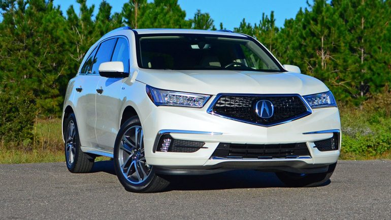 2017 Acura MDX Sport Hybrid Review & Test Drive
