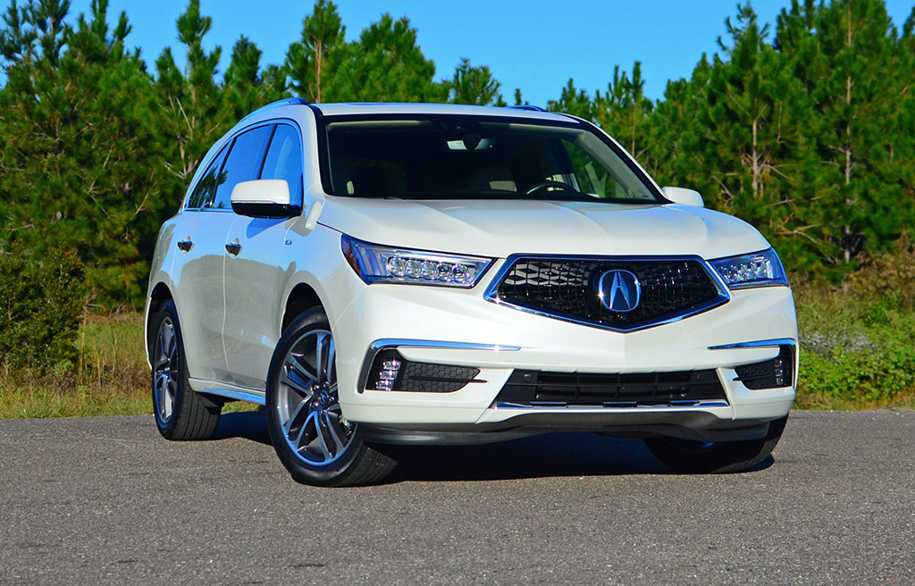 2017 acura mdx sport hybrid review test drive. Black Bedroom Furniture Sets. Home Design Ideas