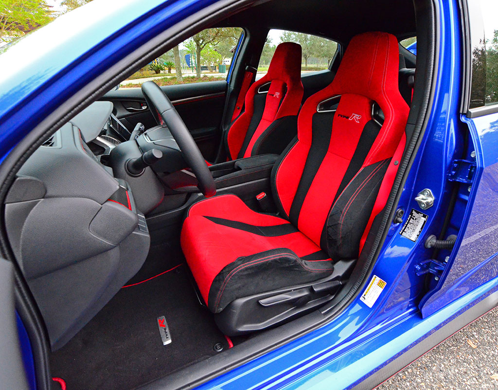 Stupendous 2017 Honda Civic Type R Front Seats Creativecarmelina Interior Chair Design Creativecarmelinacom