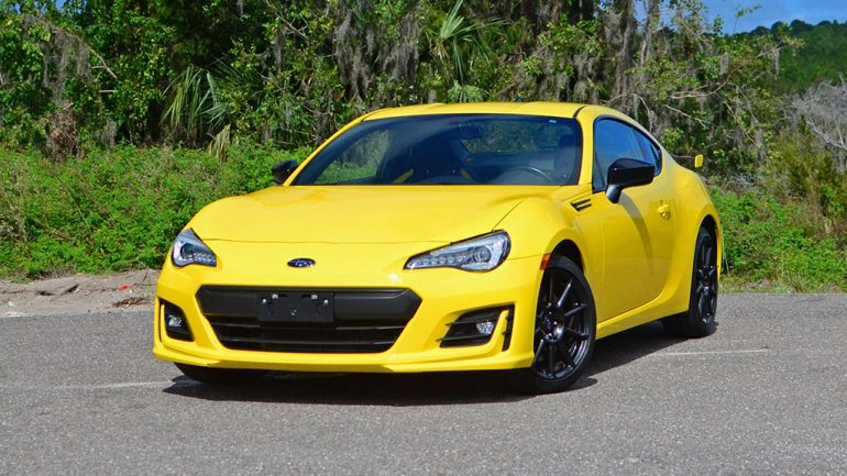 2017 Subaru BRZ Series.Yellow Quick Spin Review & Test Drive
