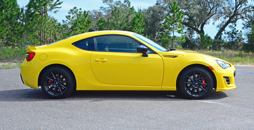 Tires Best Price >> 2017 Subaru BRZ Series.Yellow Quick Spin Review & Test Drive