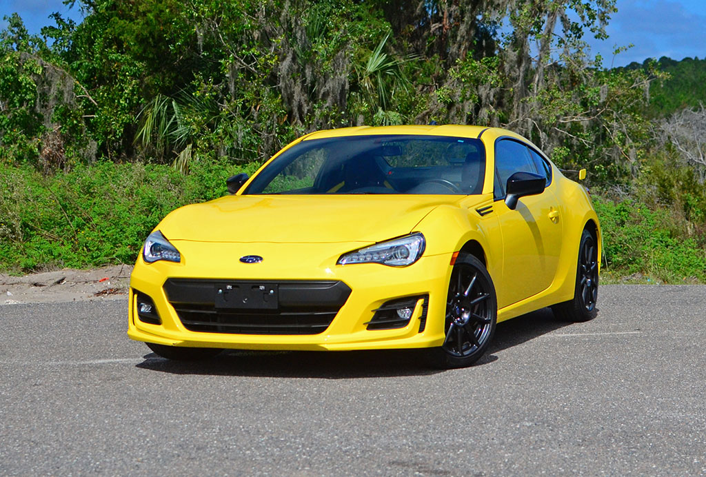 2017 subaru brz series yellow quick spin review test drive. Black Bedroom Furniture Sets. Home Design Ideas