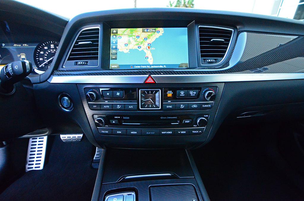 Land Rover Jacksonville >> 2018-genesis-g80-sport-center-dashboard