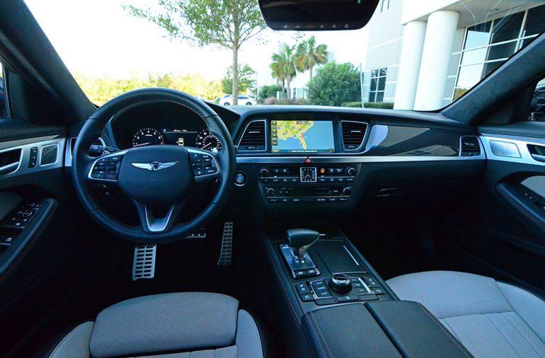 2018-genesis-g80-sport-dashboard-interior