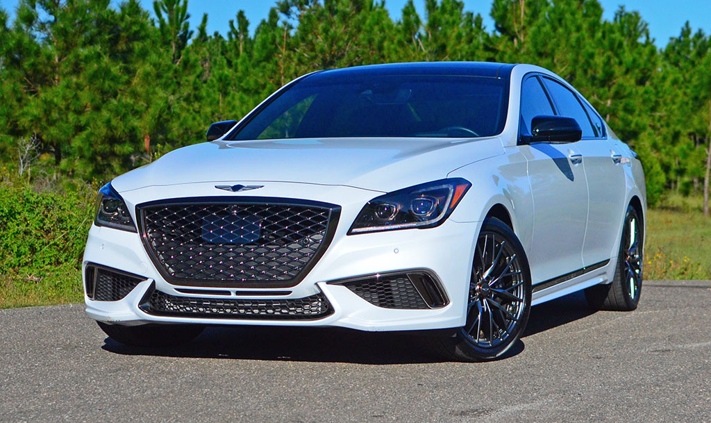 2018 genesis g80 sport review test drive