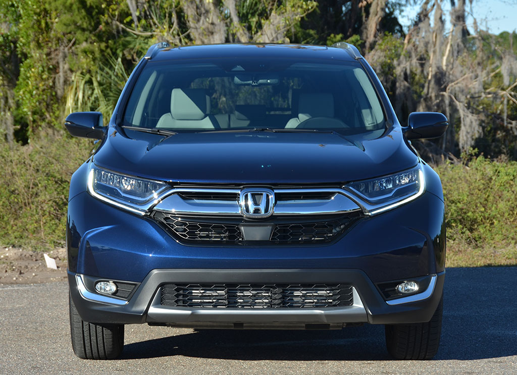 Crv 2017 Review >> 2018 Honda CR-V Touring AWD Review & Test Drive