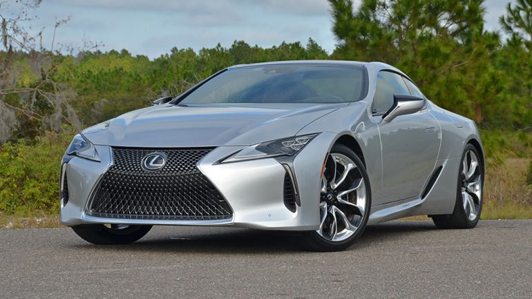 2018 Lexus LC 500 Review & Test Drive