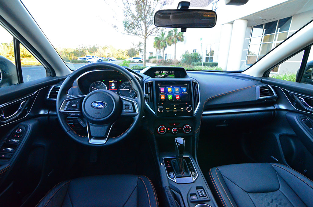 The New 2018 Subaru Crosstrek S Redesign Embos Most Of Its Improvements On Inside Where There Is A Much More Refined Cabin And Additional Features