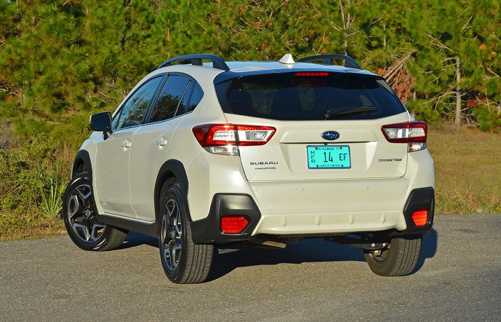 2018 subaru crosstrek limited review test drive for Subaru crosstrek 2018 interior