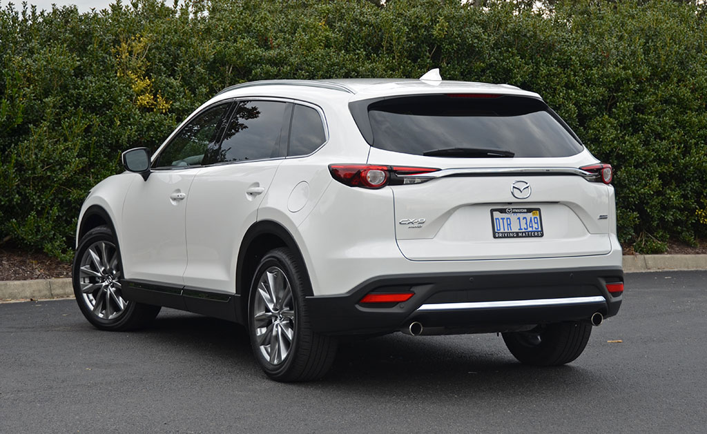 2018 mazda cx 9 awd signature review test drive. Black Bedroom Furniture Sets. Home Design Ideas