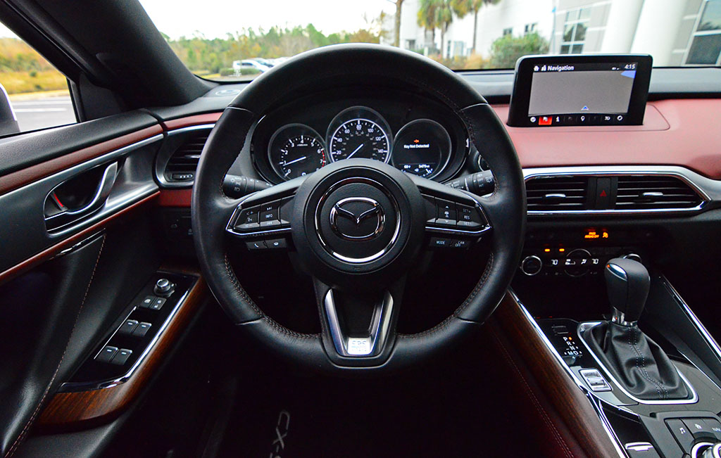 2018 Mazda Cx9 Awd Signature Steering Wheel