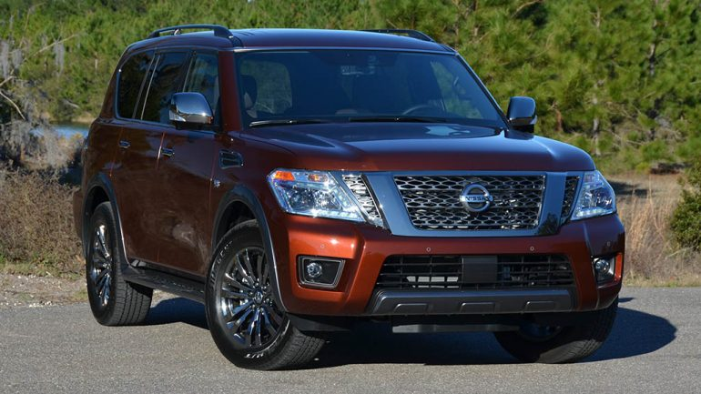 2018 Nissan Armada Platinum Reserve 4×4 Review & Test Drive
