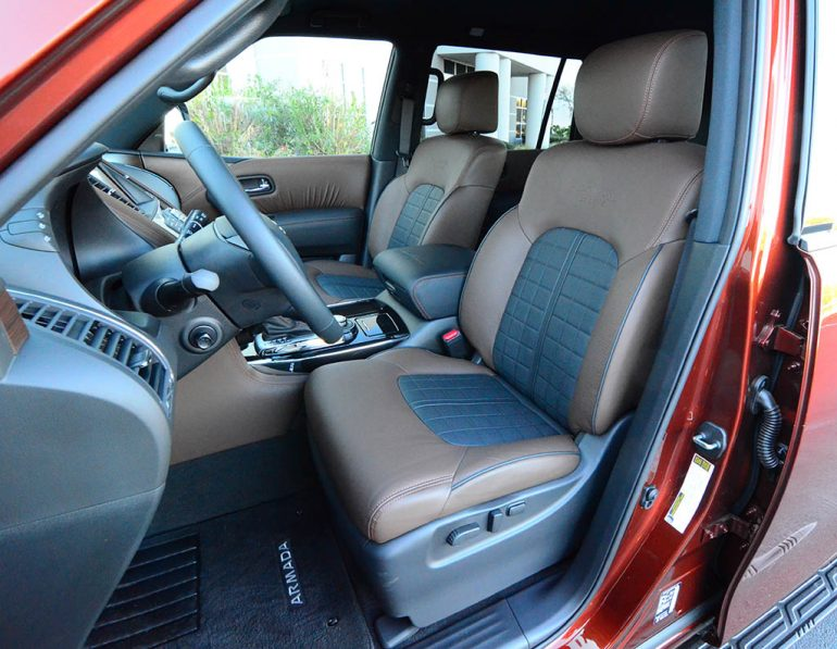 nissan armada platinum reserve  review test drive