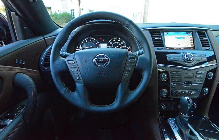 2018-nissan-armada-platinum-reserve-steering-wheel