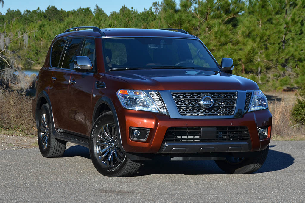 2018 Nissan Armada Platinum Reserve 4×4 Review & Test Drive