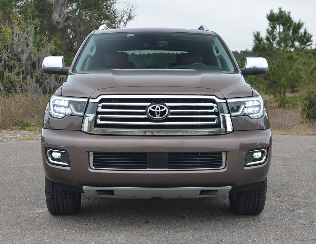 2018 Toyota Sequoia 44 Platinum Review Test Drive 2004 Loaded Front