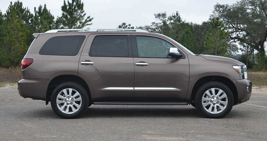 2018 Toyota Sequoia Platinum Side