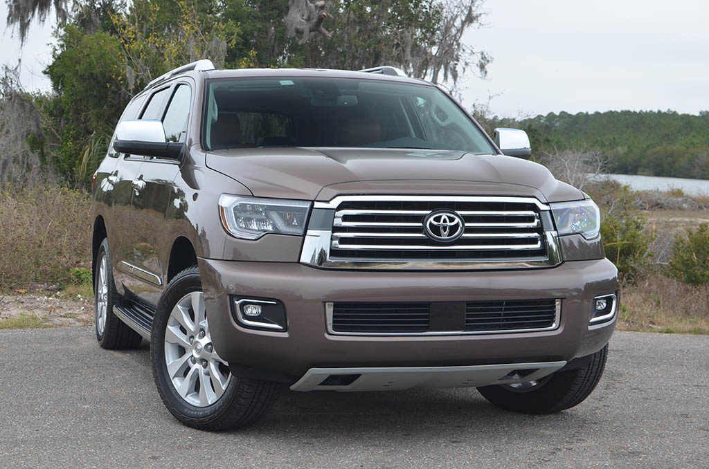 Ram 2018 Redesign >> 2018 Toyota Sequoia 4×4 Platinum Review & Test Drive