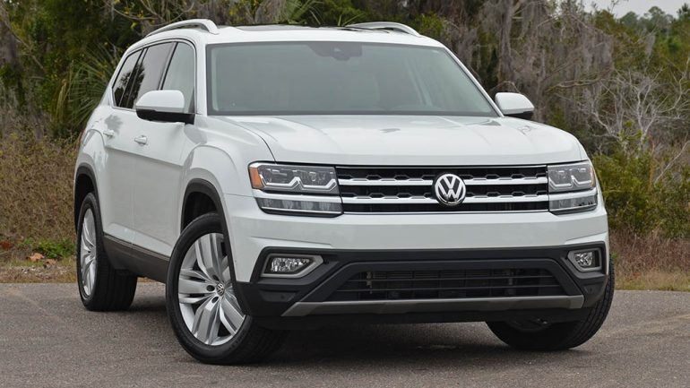 2018 Volkswagen Atlas V6 SEL Premium 4Motion Review & Test Drive