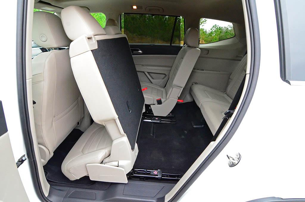 2018 Volkswagen Atlas Sel V6 Premium 4motion Second Row Fold Third Row Access Automotive Addicts