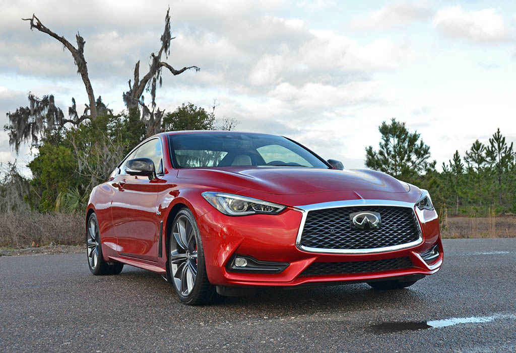 2018 infiniti q60 red sport 400 review amp test drive