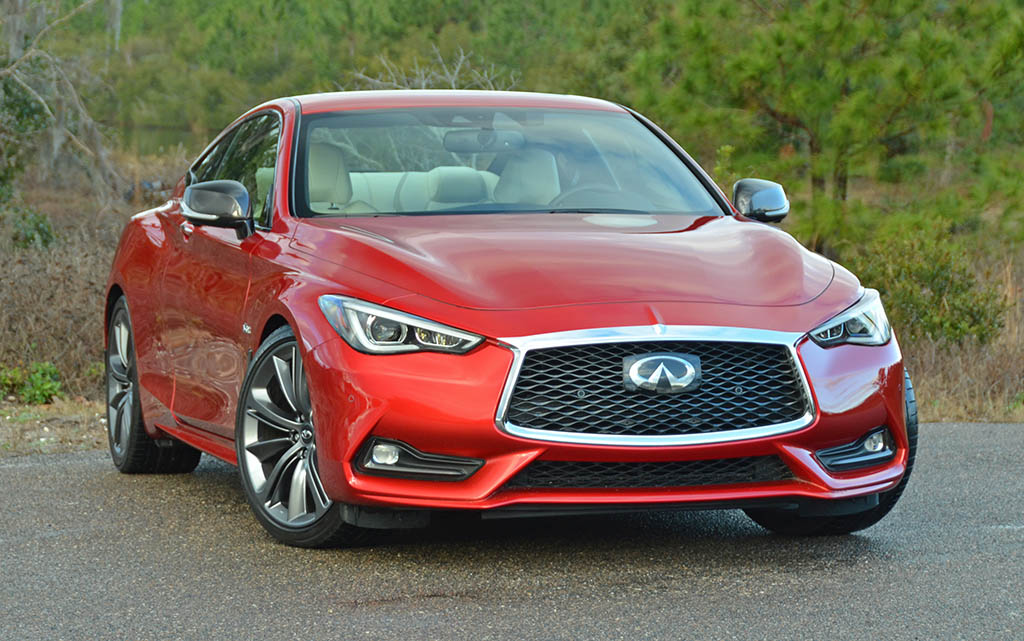 2018 infiniti q60 red sport 400 review test drive. Black Bedroom Furniture Sets. Home Design Ideas