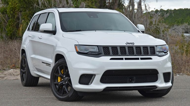 2018 Jeep Grand Cherokee SRT Trackhawk Review & Test Drive