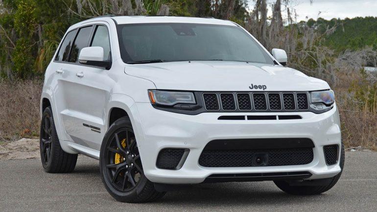 2018 Jeep Grand Cherokee SRT Trackhawk Review & Test Drive