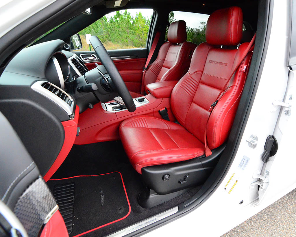 2018 jeep grand cherokee srt trackhawk review test drive. Black Bedroom Furniture Sets. Home Design Ideas