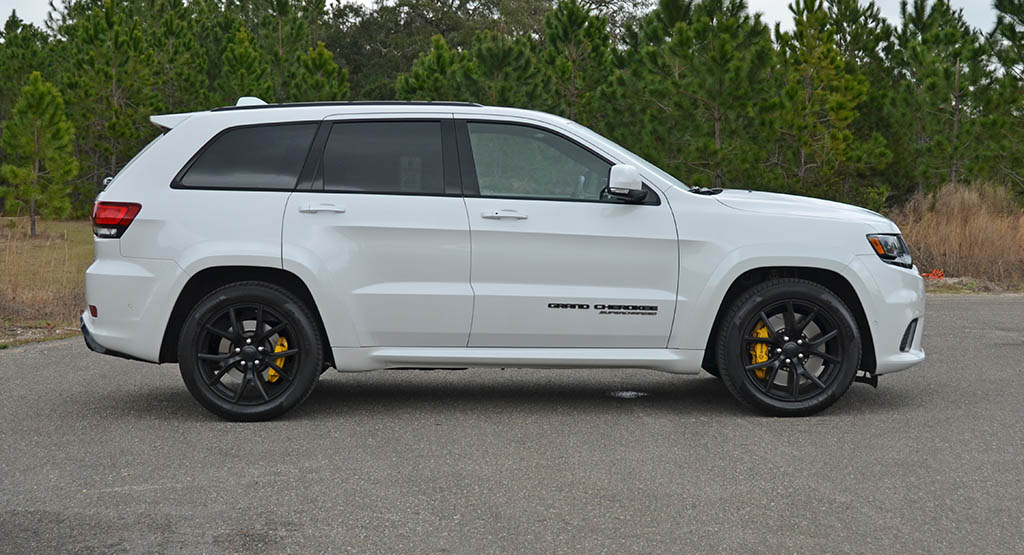 Srt8 Jeep Trackhawk >> 2018 Jeep Grand Cherokee SRT Trackhawk Review & Test Drive
