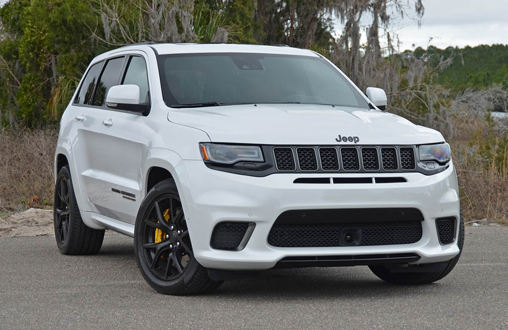 2018 Jeep Grand Cherokee Srt Trackhawk Review Amp Test Drive