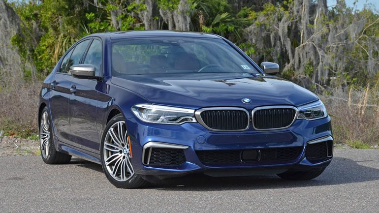 2018 BMW M550i xDrive Review & Test Drive