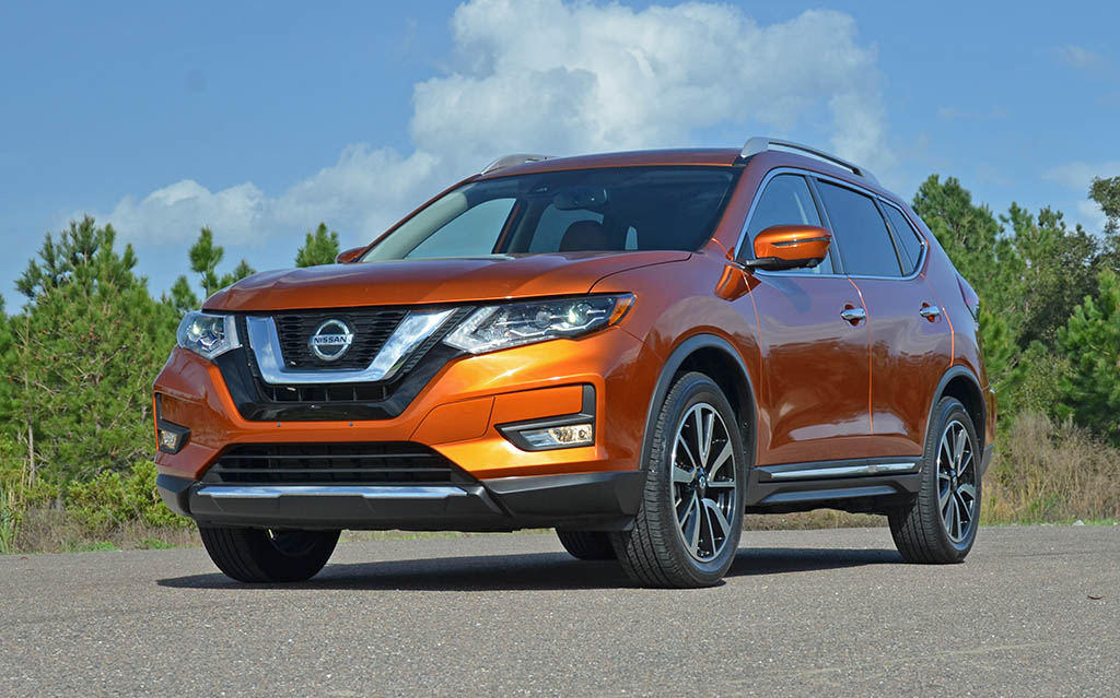 2018 Nissan Rogue >> 2018 Nissan Rogue SL AWD Review & Test Drive
