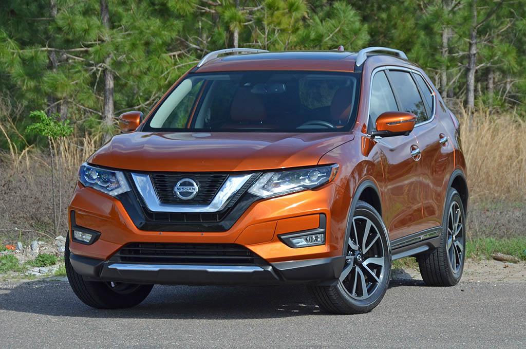 Nissan Rogue Interior >> 2018 Nissan Rogue SL AWD Review & Test Drive