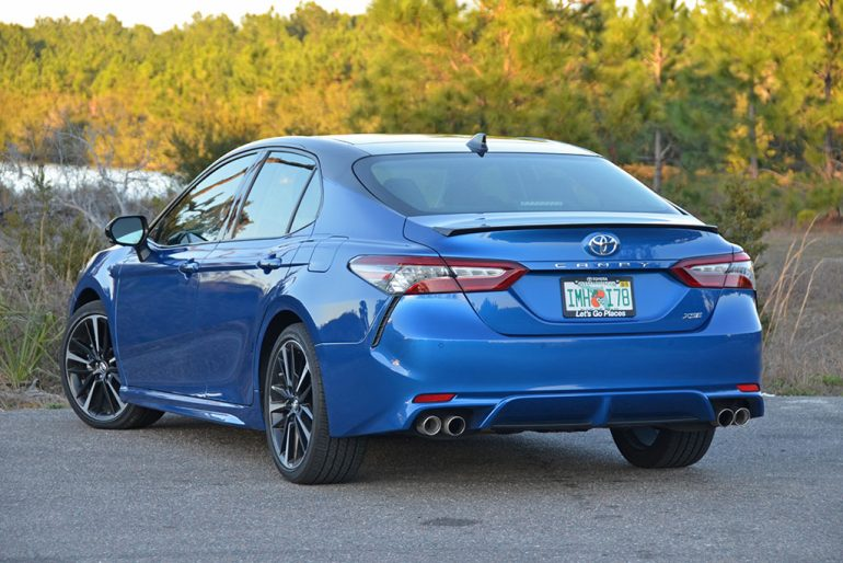 2018 Toyota Camry Xse V6 >> 2018 Toyota Camry XSE V6 Review & Test Drive