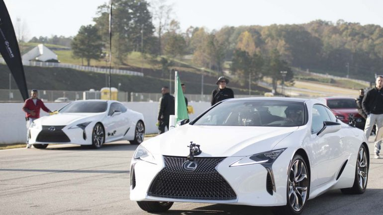 Lexus 0-60 Celebrity Racing Series: Road Atlanta