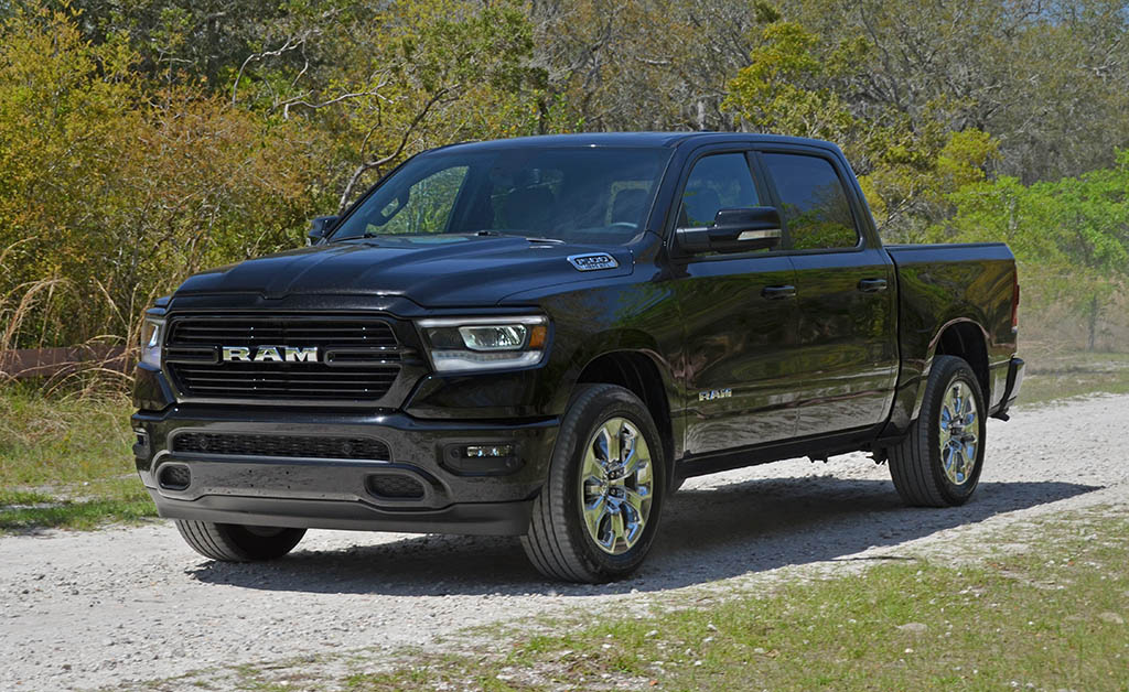 2019 Ram 1500 V8 Crew Cab Big Horn Sport 4 4 Review Test Drive