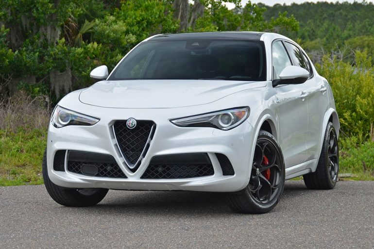 2018 alfa romeo stelvio quadrifoglio q4 review test drive. Black Bedroom Furniture Sets. Home Design Ideas