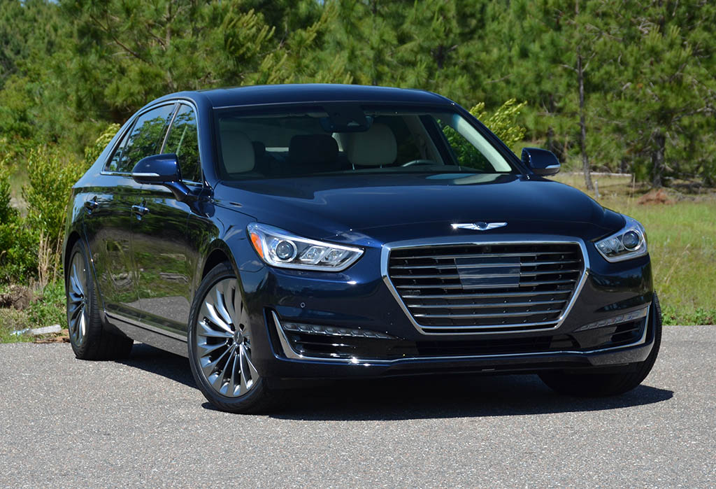 2018 genesis g90 rwd 5 0 v8 ultimate review test drive. Black Bedroom Furniture Sets. Home Design Ideas