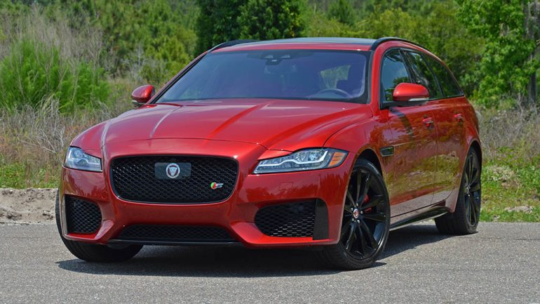 2018 Jaguar XF S Sportbrake AWD Review & Test Drive