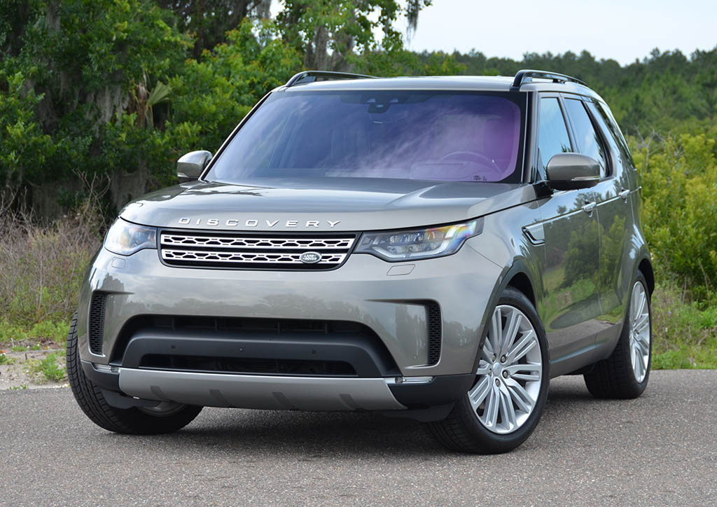 2018 land rover discovery hse luxury quick spin review. Black Bedroom Furniture Sets. Home Design Ideas