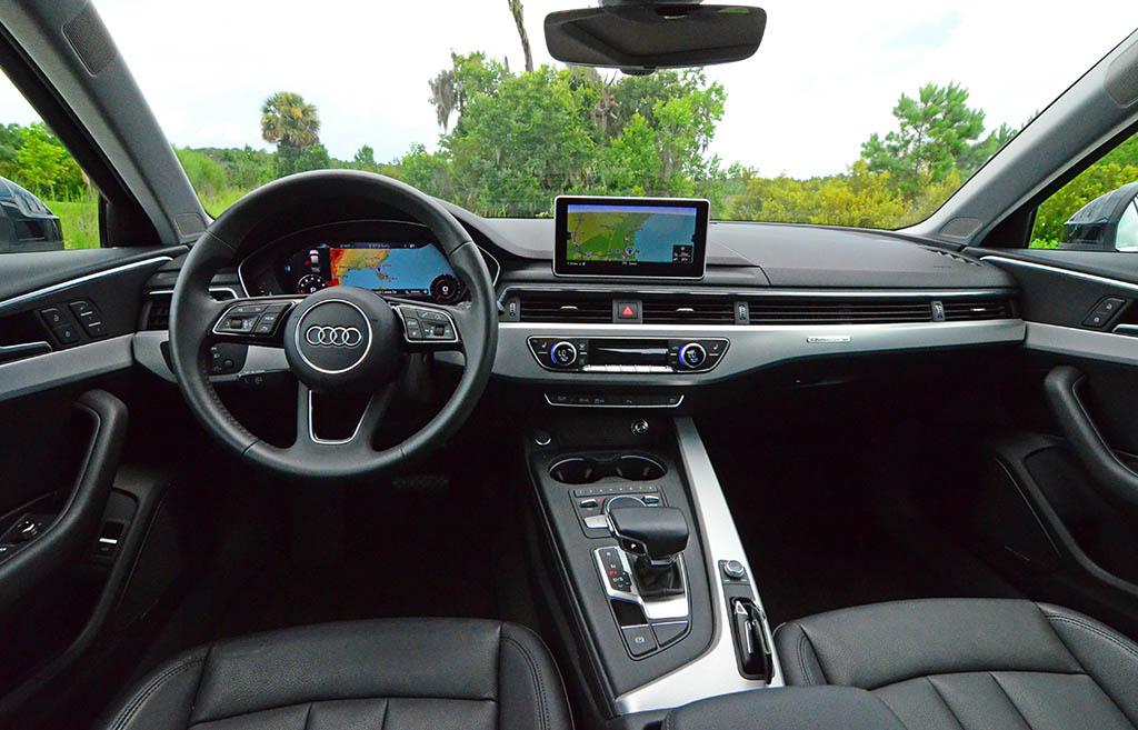 2018 Audi A4 Quattro Dashboard