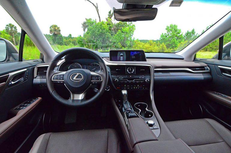 2018 lexus rx 450hl dashboard