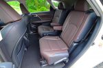 2018 lexus rx 450hl second row seats