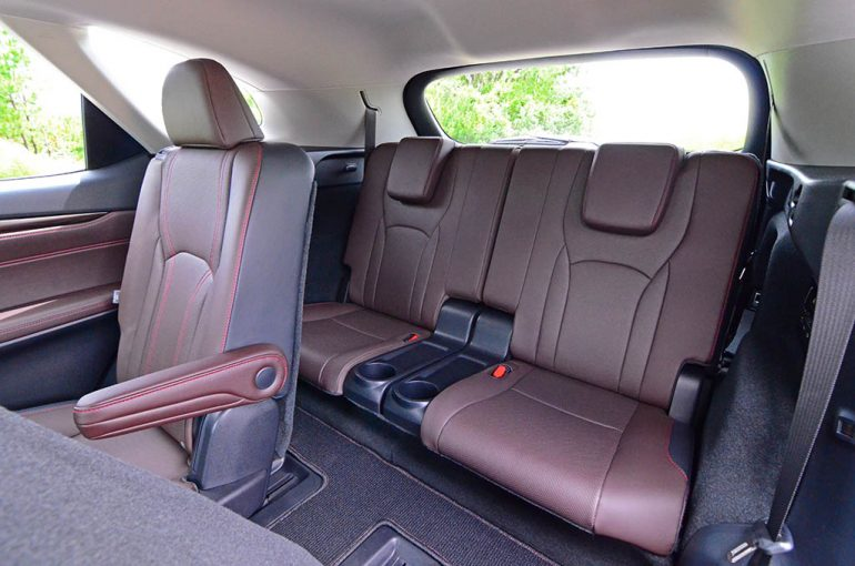 2018 lexus rx 450hl third row seats