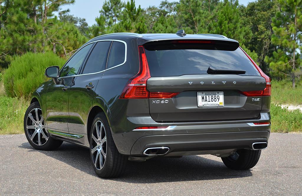 2018 Volvo Xc60 T6 Inscription Rear 1