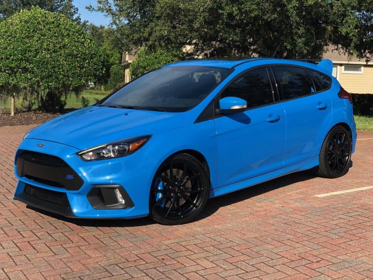 ford focus rs xpel protected